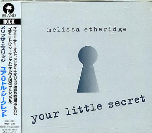 Click to view product details and reviews for Melissa Etheridge Your Little Secret 1995 Japanese 3 Cd Single Phdr 923.