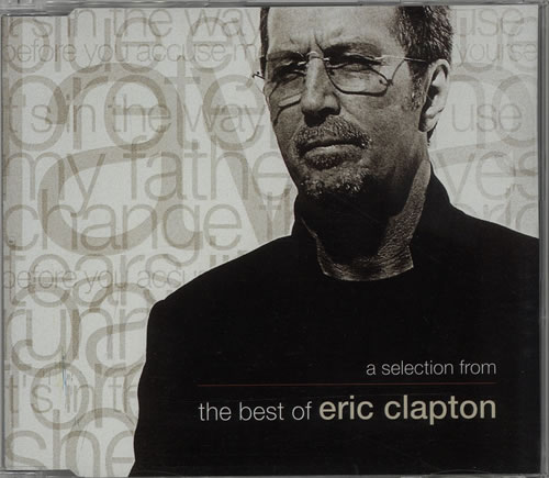 Click to view product details and reviews for Eric Clapton A Selection From The Best Of Eric Clapton 1999 Uk Cd Album Sam00189.
