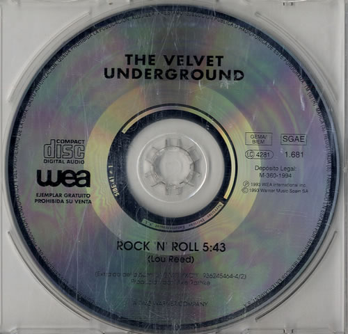 Velvet Underground Rock N Roll An Introduction Records