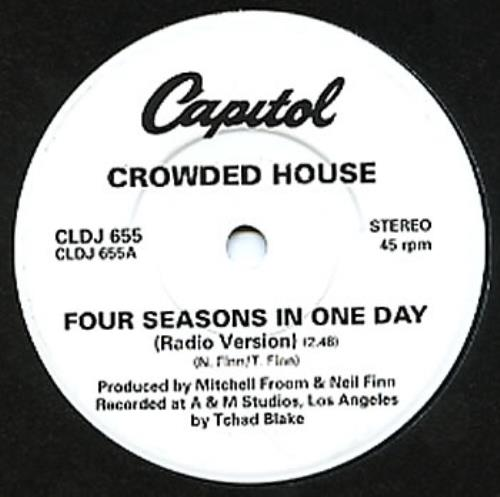 Crowded House - Four Seasons In One Day (Special Edition)