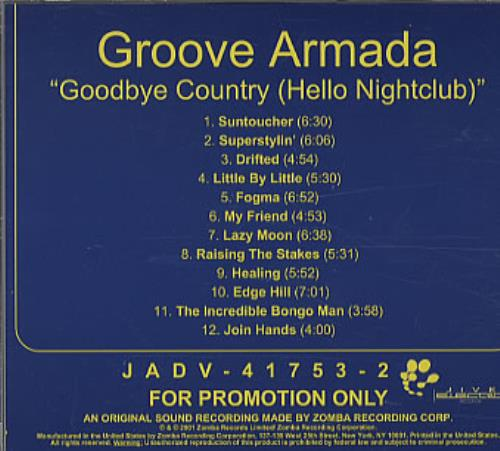 Groove Armada - Four Tune Cookie E.P