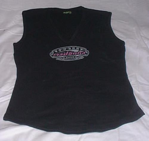 CHEAP Madonna GHV2 – Blue Sleeveless – Size Medium/Large 2001 UK t-shirt PROMO T-SHIRT 25209712169 – General Clothing