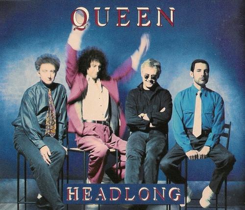 Queen Headlong 1991 Uk Cd Single Cdqueen18