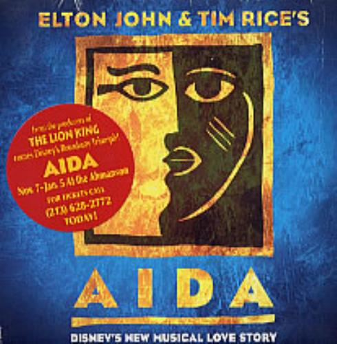 Elton John Aida Records Lps Vinyl And Cds Musicstack