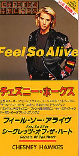 Click to view product details and reviews for Chesney Hawkes Feel So Alive 1992 Japanese 3 Cd Single Todp 2349.