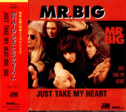 Mr Big Us Just Take My Heart 1992 Japanese Cd Single Amcy 416