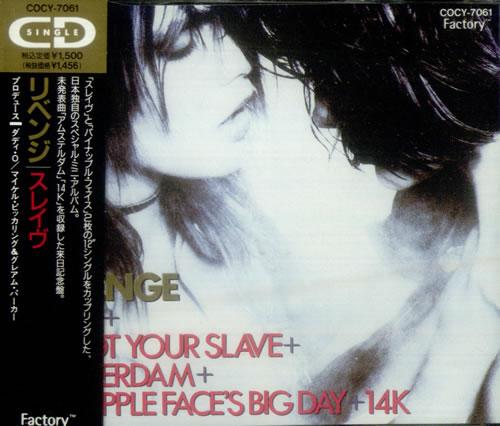 Revenge Slave 1990 Japanese Cd Single Cocy 7061
