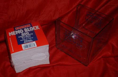 Click to view product details and reviews for Shawn Colvin I Dont Know Why Memo Block Uk Memorabilia Promo Block.