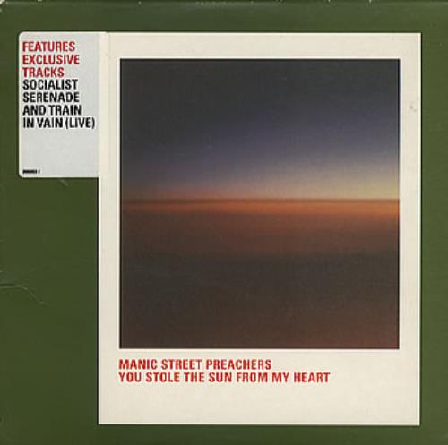 Click to view product details and reviews for Manic Street Preachers You Stole The Sun From Heart 1999 Uk Cd Single 6669532.