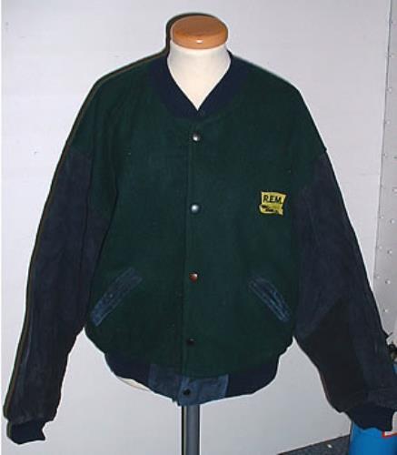 CHEAP REM Baseball Jacket – Large 1991 UK jacket PROMO JACKET 25209607259 – General Clothing