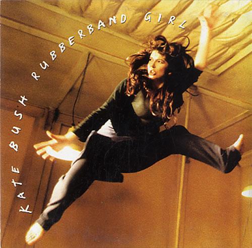 Kate Bush Rubberband Girl 1992 Dutch Cd Single 8808452