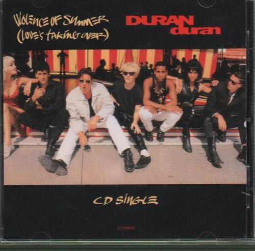 Duran Duran Violence Of Summer 1990 Usa Cd Single C215612