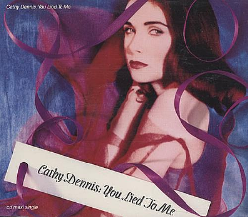 Cathy Dennis You Lied To Me 1992 Uk Cd Single Cathd6