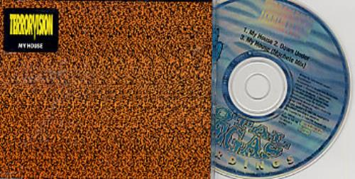 Click to view product details and reviews for Terrorvision My House Part 2 Blue Disc 1994 Uk Cd Single Cdvegas5.