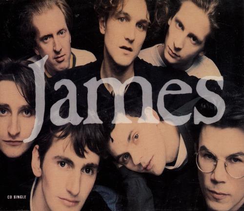 James Sound 1991 Uk Cd Single Jimcd9