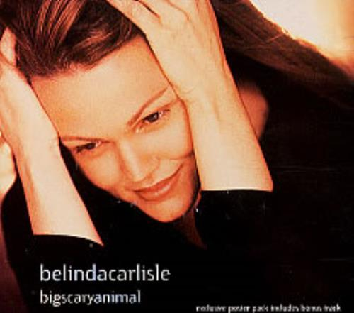 Click to view product details and reviews for Belinda Carlisle Bigscaryanimal Poster Pack 1993 Uk Cd Single Vscdx1472.