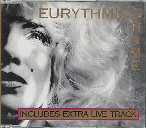 Eurythmics Shame 1987 Uk Cd Single Da14cd