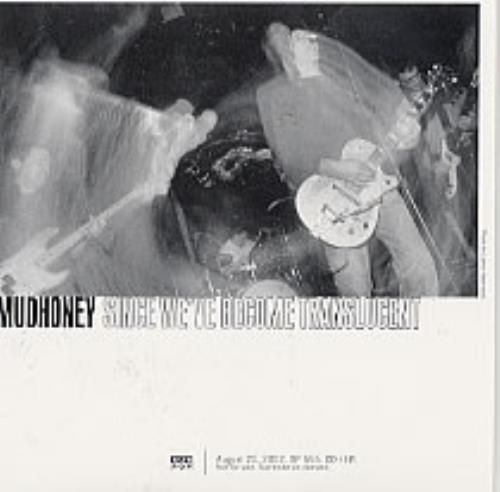 Click to view product details and reviews for Mudhoney Since Weve Become Translucent 2002 Usa Cd Album Sp555.