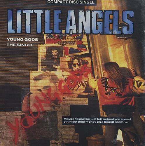 Little Angels Young Gods 1991 Uk Cd Single Ltlcd10