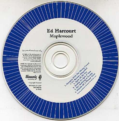Ed Harcourt Records Lps Vinyl And Cds Musicstack