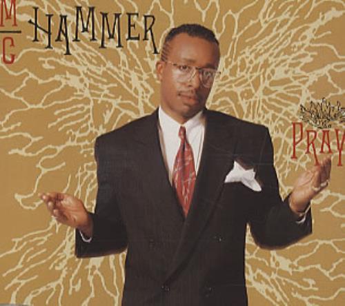 Mc Hammer Pray 1990 Uk Cd Single Cdcl599