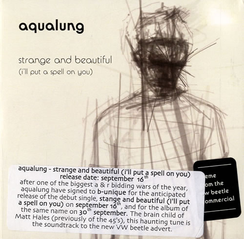 Click to view product details and reviews for Aqualung Strange And Beautiful 2002 Uk Cd R Acetate Cd R Acetate.