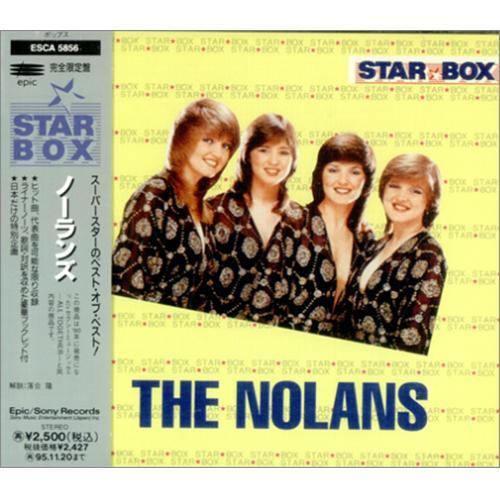 The Nolans Star Box Collection 1992 Japanese Cd Album Esca 5856