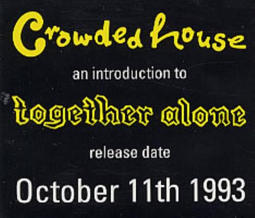 An Introduction To The House: Crowded House Records, LPs, Vinyl And CDs