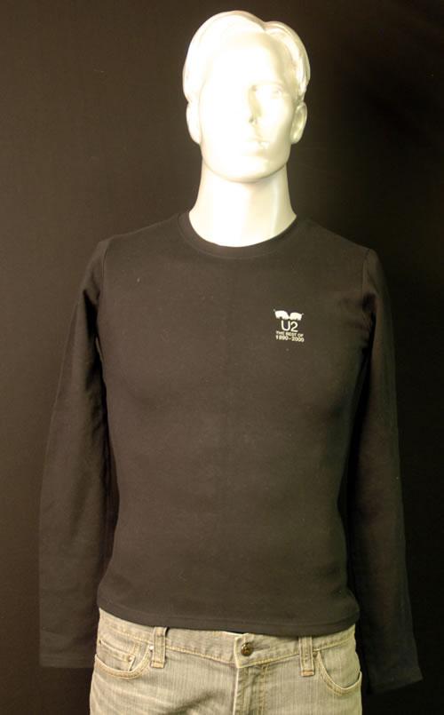 CHEAP U2 The Best Of 1990-2000 – Ladies [M] 2002 UK t-shirt PROMO T-SHIRT 25209718215 – General Clothing