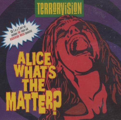 Click to view product details and reviews for Terrorvision Alice Whats The Matter 1994 Uk Cd Single Cdvegass9.