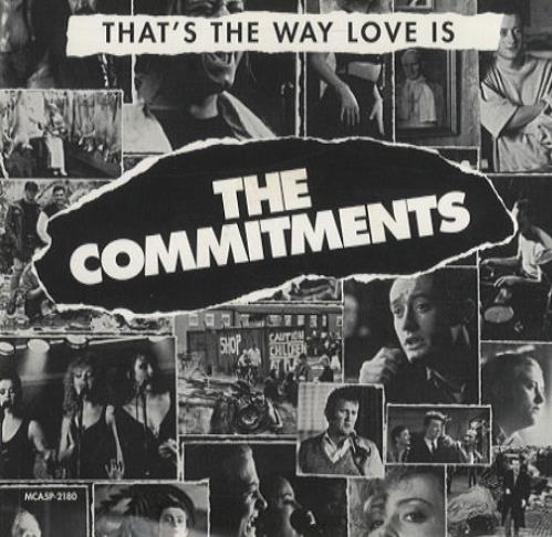 The Commitments Thats The Way Love Is 1992 Usa Cd Single Mca5p 2180