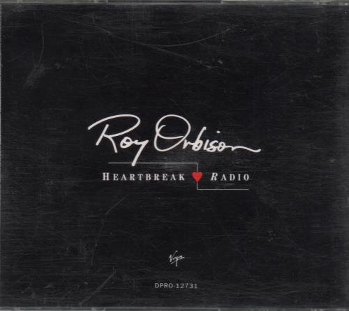 Roy Orbison Heartbreak Radio 1992 Usa Cd Single Dpro12731
