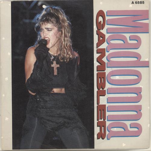 Madonna Gambler Records Lps Vinyl And Cds Musicstack