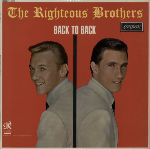Righteous Brothers Back To Back Records Lps Vinyl And
