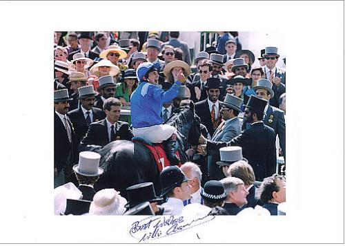 Click to view product details and reviews for Willie Carson Autographed Photoprint Uk Memorabilia Signed Print.