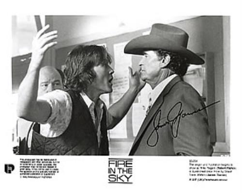 Click to view product details and reviews for James Garner Fire In The Sky 1993 Uk Photograph 85 234.