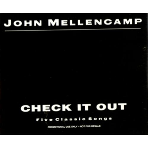 Click to view product details and reviews for John Cougar Mellencamp Check It Out 1991 Uk Cd Single Jmpro1.