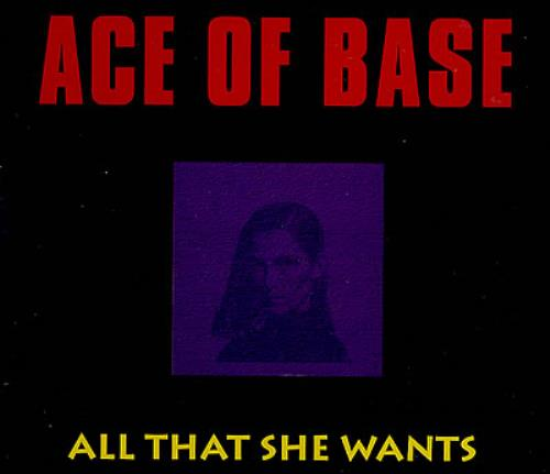 Click to view product details and reviews for Ace Of Base All That She Wants 1992 German Cd Single 861271 2.