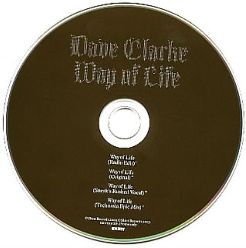 Click to view product details and reviews for Dave Clarke Way Of Life 2003 Uk Cd Single Skint93cdp.