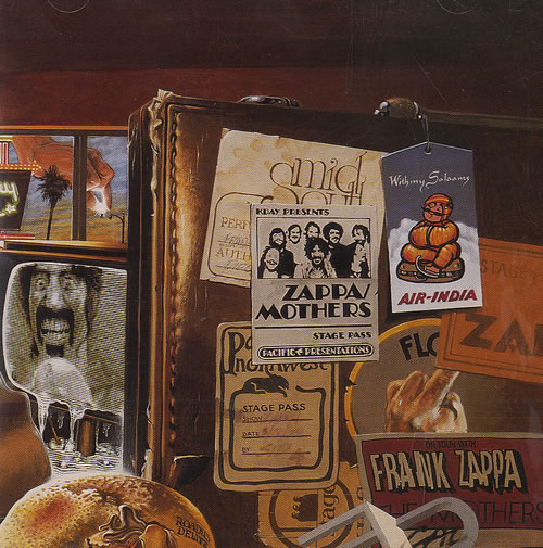 Frank Zappa Over Nite Sensation Records Lps Vinyl And