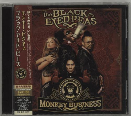 The Black Eyed Peas Monkey Business Vinyl Monkey Business