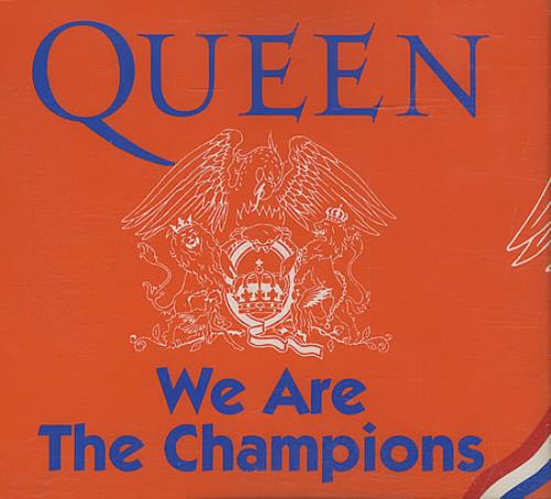 Queen We Are The Champions Records, LPs, Vinyl and CDs ...