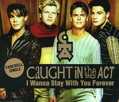 Click to view product details and reviews for Caught In The Act I Wanna Stay With You Forever 1998 German Cd Single Zyx8950 8.