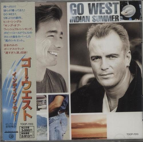 Click to view product details and reviews for Go West Indian Summer 1992 Japanese Cd Album Tocp 7013.