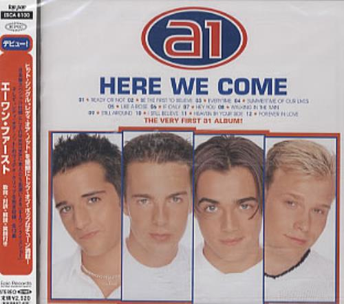 Click to view product details and reviews for A1 Here We Come Sealed 2000 Japanese Cd Album Esca8100.