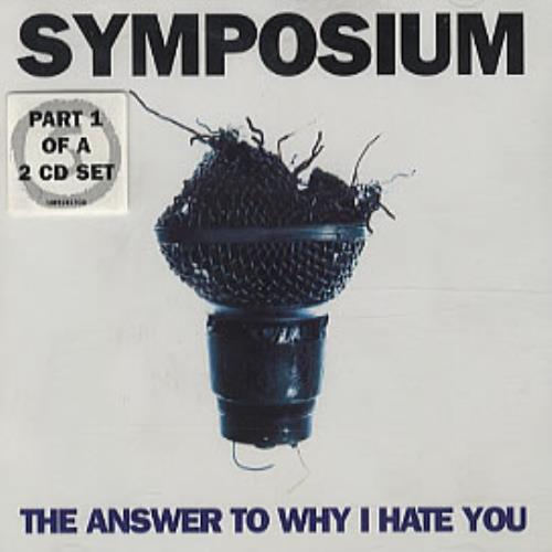 Click to view product details and reviews for Symposium The Answer To Why I Hate You 1997 Uk 2 Cd Single Set Infect37cd X.