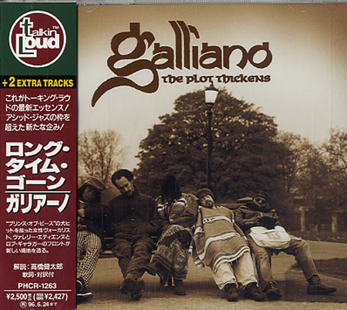 Click to view product details and reviews for Galliano The Plot Thickens 1994 Japanese Cd Album Phcr 1263.