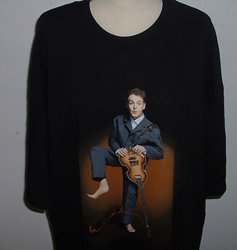 CHEAP Paul McCartney and Wings Driving USA Tour – Paul Wearing A Grey Suit 2002 USA t-shirt TOUR T-SHIRT 25209772239 – General Clothing