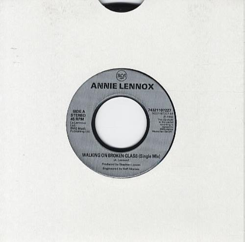 Annie Lennox Legend In My Living Room: Annie Lennox Walking On Broken Glass Records, LPs, Vinyl
