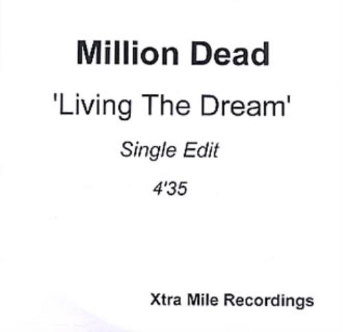 Click to view product details and reviews for Million Dead Living The Dream 2005 Uk Cd R Acetate Cd R Acetate.